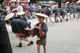 手踊り「千鳥」の反転部